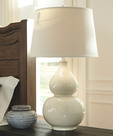 Signature Design by Ashley Cream Saffi Table Lamp