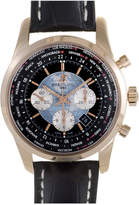 Breitling Men's Leather Watch