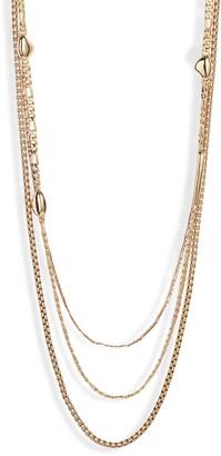 Jenny Bird Salento Layered Chain Link Necklace