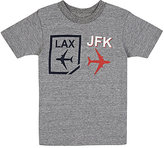 "Little DiLascia ""LAX/JFK"" Jersey T-Shirt"