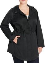 Eileen Fisher Plus Hooded Anorak Jacket