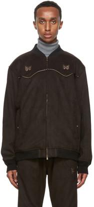 Needles Brown Faux-Suede Cowboy Jacket
