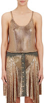 Paco Rabanne Women's Chain-Mail Tank-GOLD