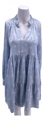 Stine Goya Blue Viscose Dresses