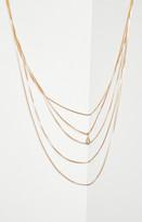 BCBGMAXAZRIA Layered Chain Necklace