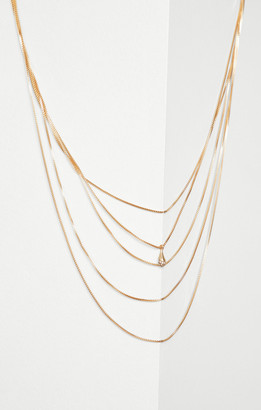 BCBGMAXAZRIA Layered Chain Necklace