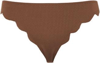 Marysia Swim Broadway Scalloped Bikini Briefs