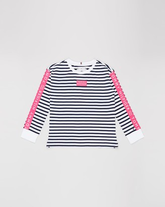 Tommy Hilfiger Nautical Stripe LS Tee - Teens