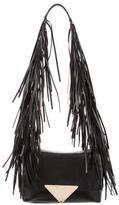 Sara Battaglia Theresa Fringe Shoulder Bag