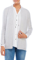 vertical design Shawl Collar Cashmere Open Cardigan