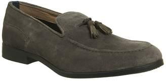 Hudson London Alysham Tassle Loafers Grey
