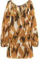 Lenny Niemeyer Printed Georgette Dress - Light brown