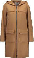 Sandro Mona wool-blend hooded coat