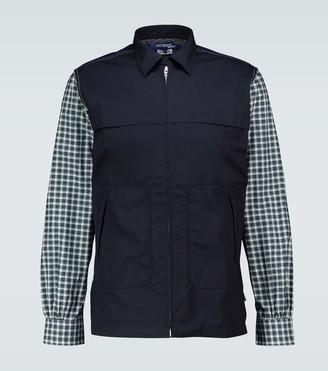 Junya Watanabe Zipped cotton shirt