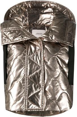 Dorothee Schumacher Mirror Shine quilted vest