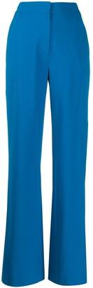 Dvf Diane Von Furstenberg High-Rise Wide Leg Trousers