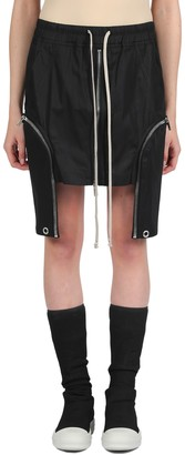 Drkshdw Rick Owens Mini Skirt