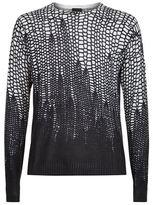 Just Cavalli Tonal Leopard Print Knit