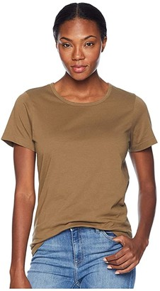 Filson Whidbey Scoop Neck T-Shirt (Field Olive) Women's Clothing