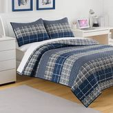 Izod Riviera Plaid Reversible Quilt