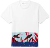 Marni - Printed Cotton-jersey T-shirt