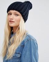 Hat Attack Chevron Knit Beanie Hat
