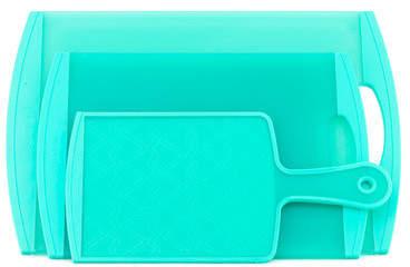 Set of 3 Carat Mint Cutting Boards