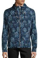 Burberry Hartland Floral Hooded Jacket