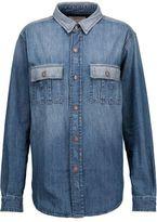 Current/Elliott The Whitney Prep Denim Shirt