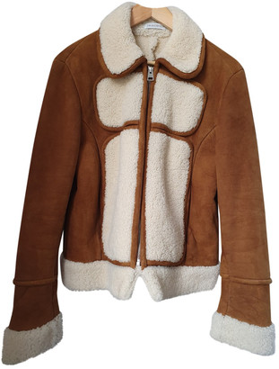 J.W.Anderson Camel Leather Jackets