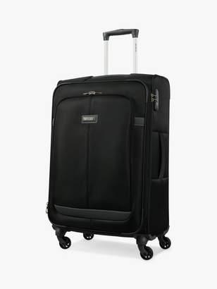Samsonite Caphir 4-Wheel 69cm Medium Suitcase, Black