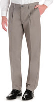 Lee Men's Total Freedom Classic-Fit Stain Resist Pleated Pants