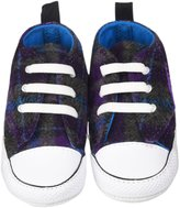 Converse Chuck Taylor First Star Easy Slip (Inf) - Allium Purple/Cyan Space/Black-3 Infant