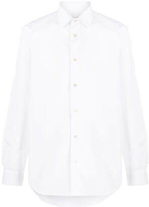 Paul Smith Long-Sleeved Plain Shirt