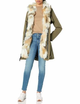 Dawn Levy Women's Mackenzie Detachable Fox Fur Coat
