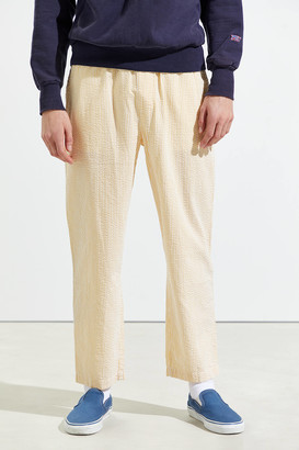 Urban Outfitters Seersucker Cropped Beach Pant