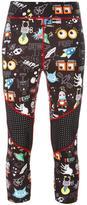 Fendi monster print leggings
