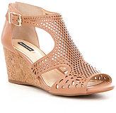 Alex Marie Maxyne Cork Wedge Sandals