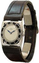 One Kings Lane Vintage 1920s Gubelin Sterling Watch