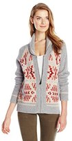 Pendleton Women's Mountain Zip Cardigan Sweater