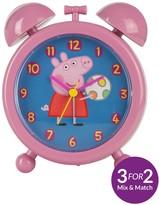 Peppa Pig Teacher Clock