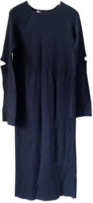 Nomia Navy Viscose Dresses