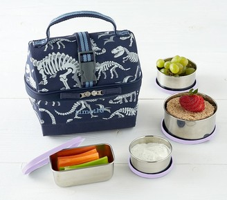 Pottery Barn Kids Stainless Steel Food Container Set, Retro