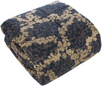 Roberto Cavalli Canopy Jacquard Comforter - 270x260cm - Blue
