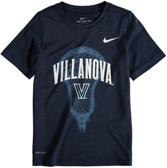 Nike Youth Navy Villanova Wildcats Lacrosse Performance T-Shirt
