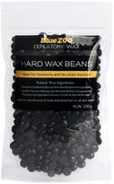 Bluezoo 100g Depilatory Hard Wax Beads Solid Hot Film Waxing Pellets for Body Bikini Hair Removal Nature Smell