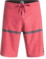 Quiksilver Men's Stripe Scallop 20 Inch Boardshort