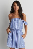 American Eagle Outfitters AE Off-the-Shoulder Fit & Flare Dress