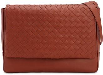 Bottega Veneta New Intrecciato Medium Leather Messenger