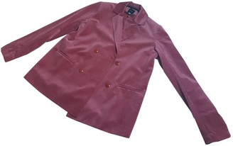 Non Signé / Unsigned Non Signe / Unsigned Pink Velvet Jacket for Women